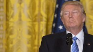 Unter Druck: Donald Trump hat in seinen ersten Wochen im Amt schon mehr Gegenwind erzeugt als die meisten seiner Vorgänger
