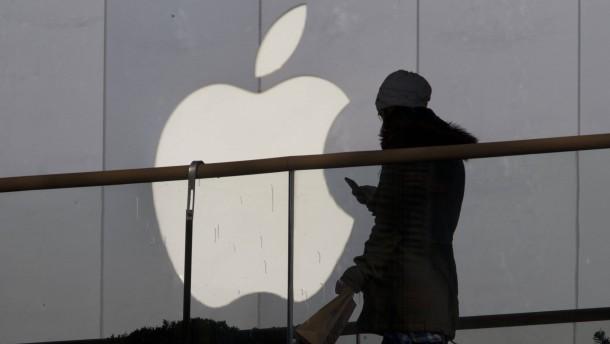 Apple-Aktie unter Druck