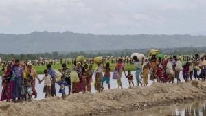 Weltweit sind immer mehr Menschen auf der Flucht