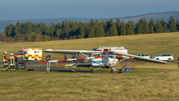 Pilot nach tödlichem Flugzeugunglück in der Röhn vor Gericht