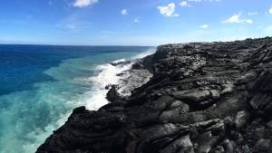 Der markante Knick vor Hawaii