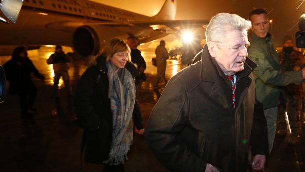 Gauck in Afghanistan