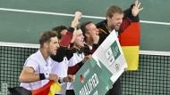Auch ohne Alexander Zverev erreicht das deutsche Davis-Cup-Team die Endrunde im November.
