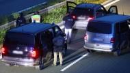 A9: Mutmaßlich bewaffneter Fahrgast in Reisebus festgenommen