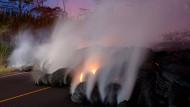 Lava kommt Kraftwerk gefährlich nah
