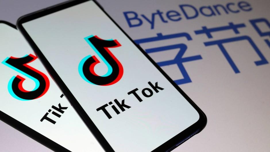 Tiktok gehört dem chinesischen Konzen Bytedance.