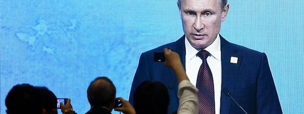 Bedient den Traum vom starken Mann: Russlands Präsident Putin (auf dem Apec-Gipfel Mitte November in Peking)