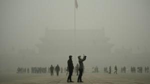 Tödlicher Smog hüllt Peking ein