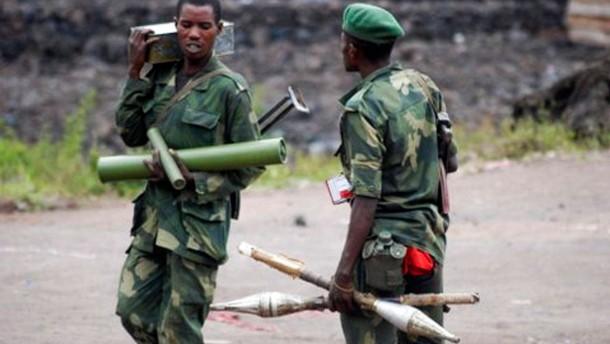 Heftige Kämpfe im Kongo