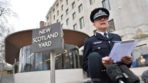 Ein schwarzer Tag für Londons Antiterror-Chef