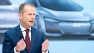 Mehr Rendite soll es sein: VW-Chef Herbert Diess.