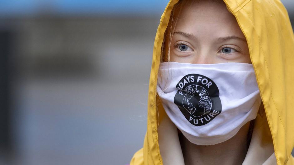 Greta Thunberg macht EU-Gipfel Druck