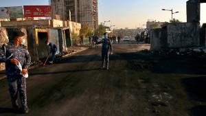 Vier Raketen in Bagdads Grüner Zone eingeschlagen