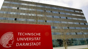 Explosion an Universität in Darmstadt