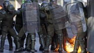 Straßenschlachten bei Demonstrationen in Chile