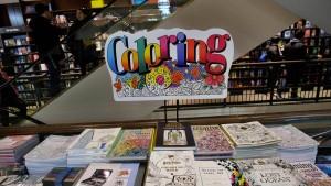 Ein brummendes Geschäft: Ausmalbücher für Erwachsene