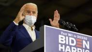 Der Präsidentschaftskandidat der Demokraten, Joe Biden