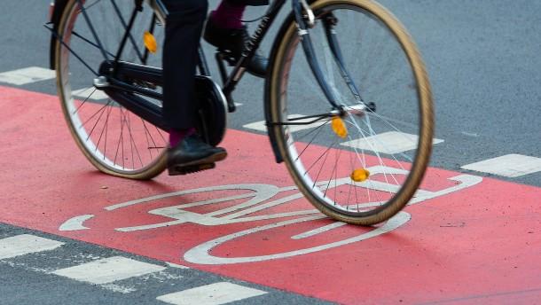 Frankfurt punktet bei Radfahrern