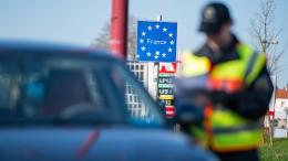 Polizei kontrolliert Grenze zu Frankreich