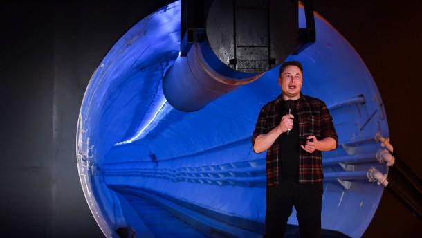 Elon im Untergrund