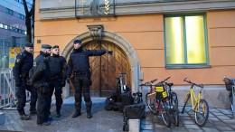 Angeklagter in Stockholmer Terrorprozess bekennt sich schuldig