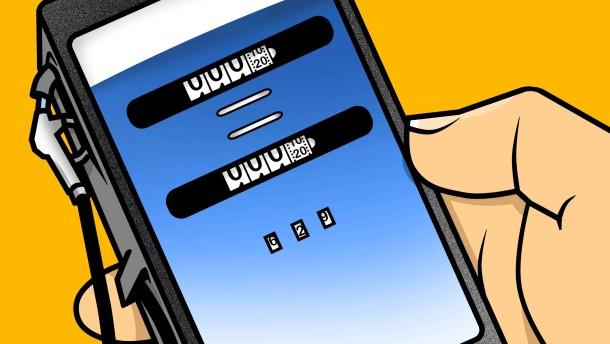 Billiger Tanken mit dem Handy