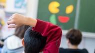 Mehr Lehrer, weniger Schüler: Die Stellenzahl ist um 1000 auf 54.100 gestiegen, während die Schülerzahl auf 760.000 leicht sank (Symbolbild).