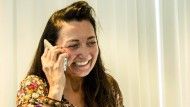 Der Moment ihres Forscher-Lebens: May-Britt Moser erfährt am Telefon, dass sie den Nobel-Preis erhält