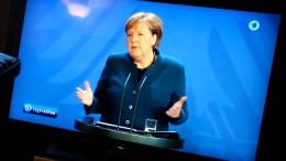 Merkel: Muss Menschen in Deutschland um Geduld bitten