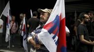 Proteste gegen Sparkurs in Griechenland