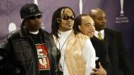 """Kidd Creole (zweiter von rechts) 2007 mit seiner alten Band """"Grandmaster Flash and the Furious Five"""""""
