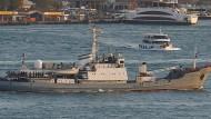 Russisches Aufklärungsschiff vor der Türkei gesunken
