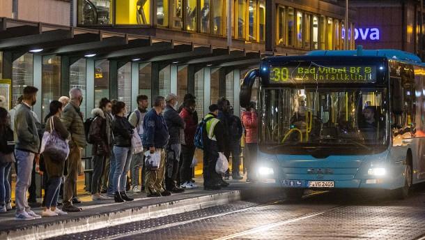 Wo Busse und Bahnen ausfallen