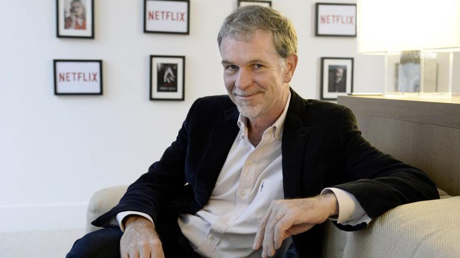 Netflix-Mitgründer und Vorstandsvorsitzender Reed Hastings