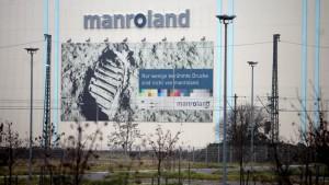 Markt nicht so schlecht  für Manroland Offenbach
