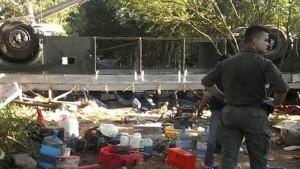 43 Grenzschützer sterben bei Busunglück