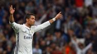 Er ist wieder da: Cristiano Ronaldo erzielt in der 89. Minute den Ausgleich.