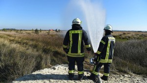 Moorbrand auf Militärgelände bei Meppen gelöscht