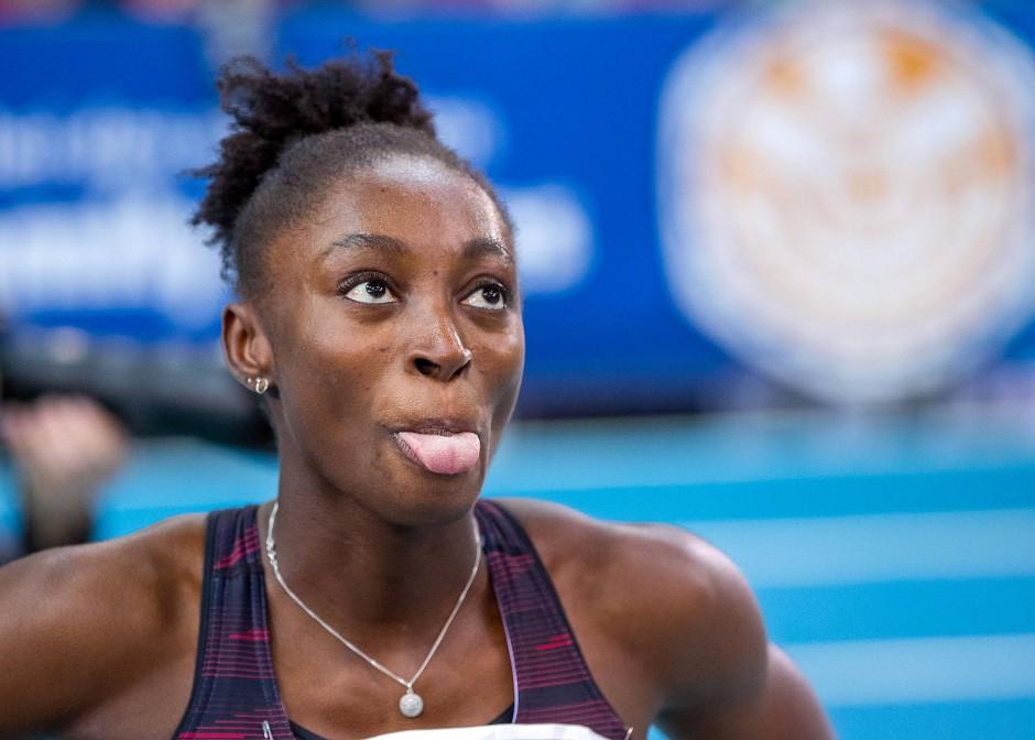 Lisa-Marie Kwayie ist eine waschechte Berlinerin und wurde Meisterin im Sprint.