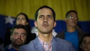 Venezuelas Parlamentspräsident erklärt sich zum Staatschef