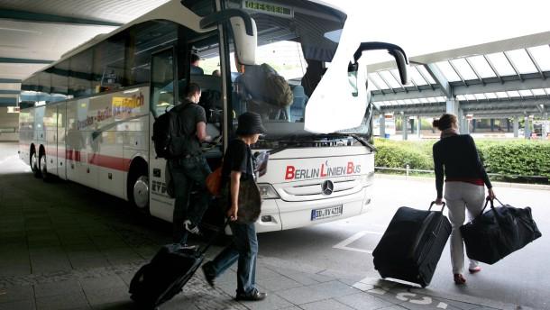 Freigabe innerdeutscher Buslinienverkehr