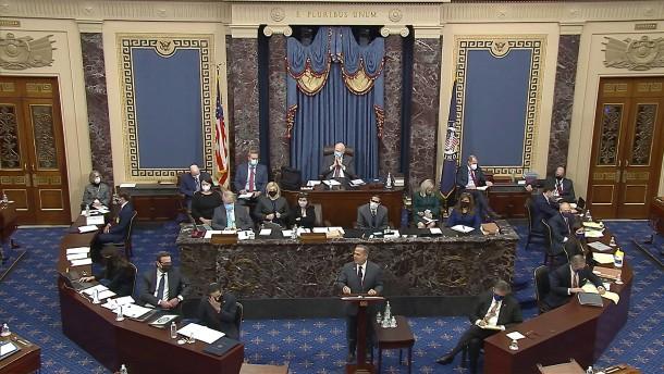 Senat wertet Amtsenthebungsverfahren als verfassungsgemäß