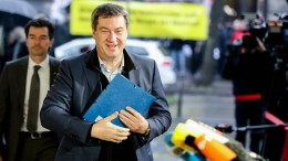 "Söder will AfD ""konsequenter stellen"""