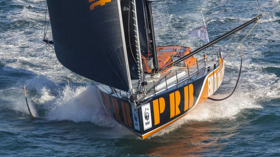Nun am Grund des Ozeans: Die Yacht von Kevin Escoffier ist am Montag 800 Seemeilen südlich von Kapstadt zerbrochen.
