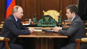 Die Sanktionen schwächen Putins Ansehen