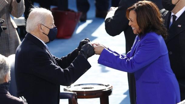Joe Biden und Kamala Harris vereidigt