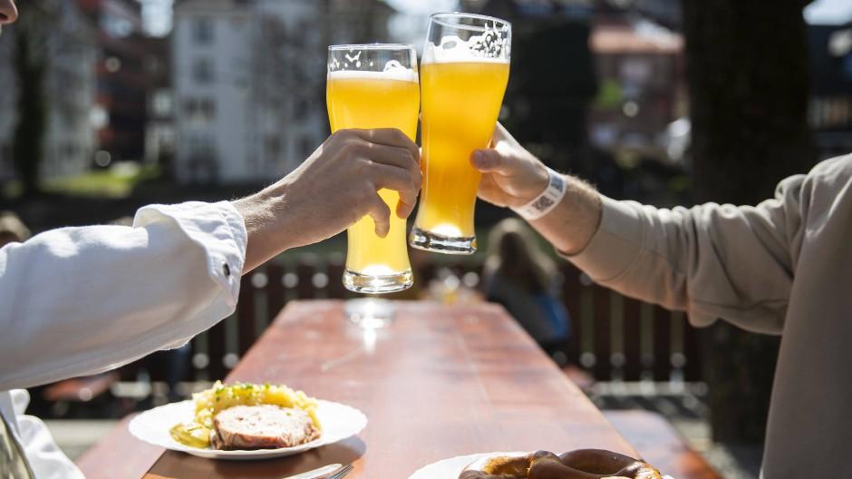 In Tübingen haben die Biergärten seit dem 15. Mai wieder geöffnet.