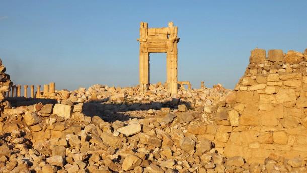 Kreml: IS vollständig aus Palmyra vertrieben
