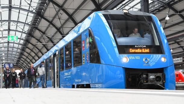 Wo der Wasserstoff für RMV-Züge herkommt