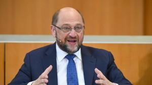 Schulz schließt Kanzlerkandidatur aus